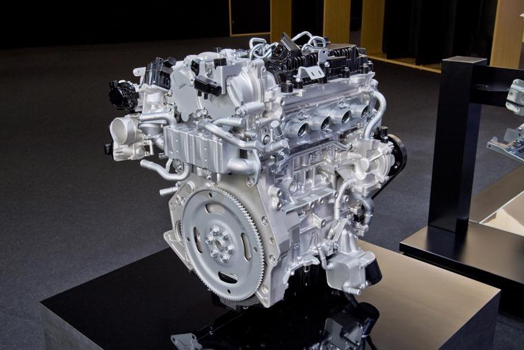 Mazda's new Skyactiv-X petrol engine