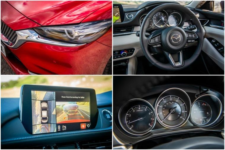 Mazda6 interior details