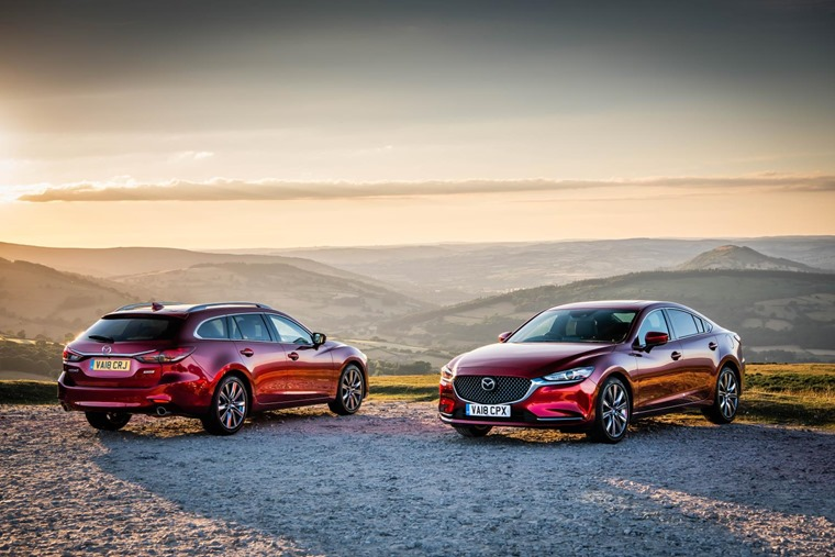 Mazda6 saloon and tourer