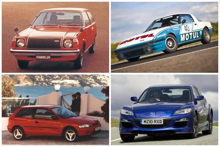 Mazdas through the years