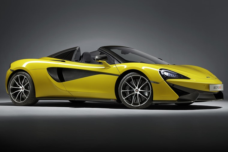 570S gets a roof chop.