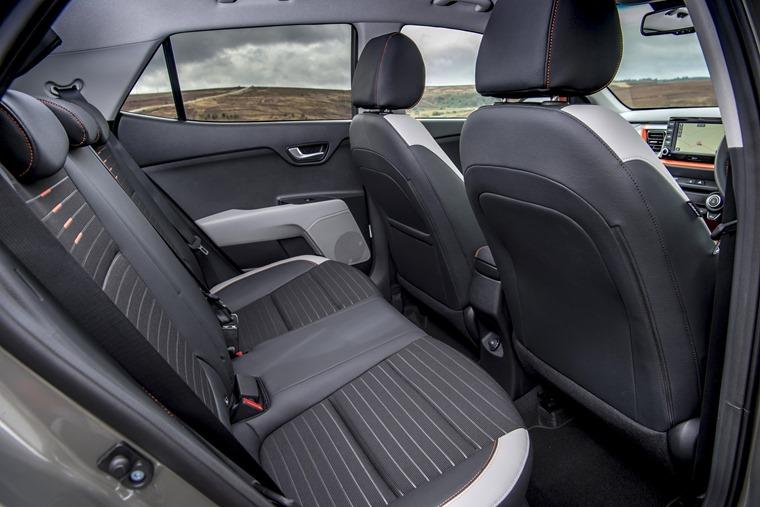 Kia Stonic rear passenger space