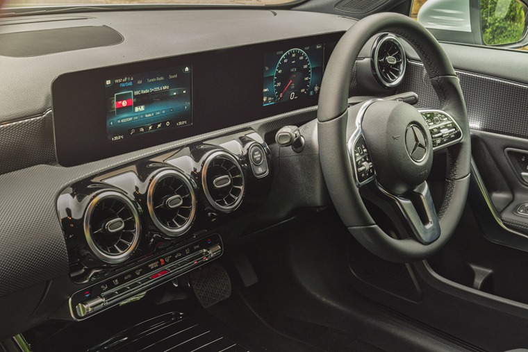 Mercedes A-Class 2019 interior