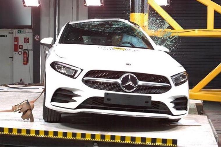 Mercedes A-Class crash test