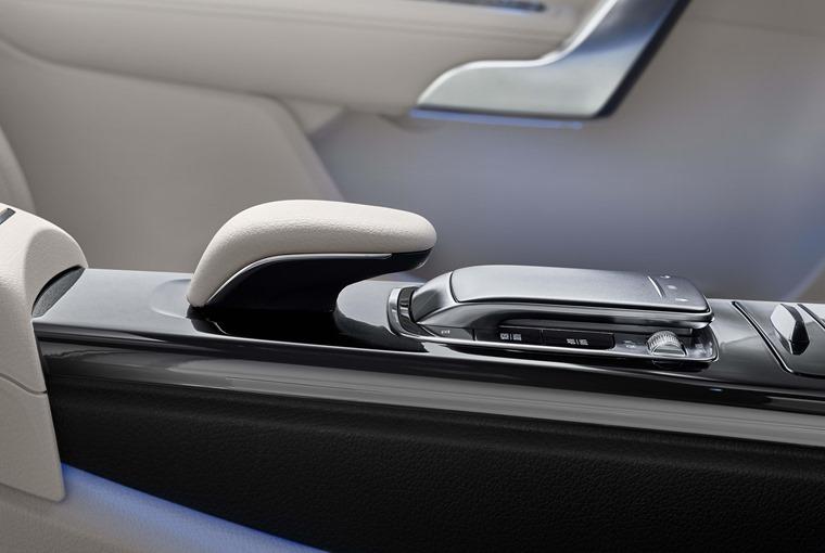 Mercedes A-Class Saloon vs CLA 2019 A-Class interior MBUX controller