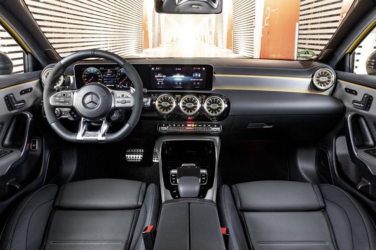 Mercedes-AMG A35 dashboard