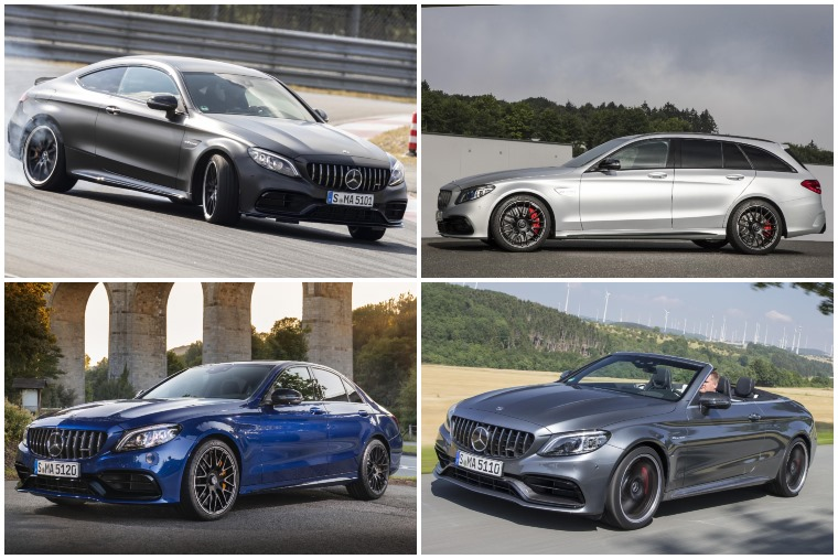 Mercedes-AMG C 63 range 2018