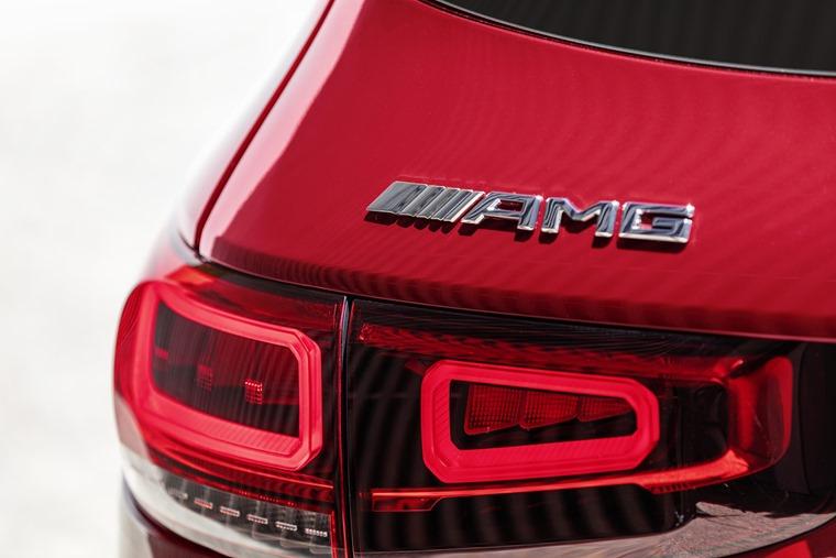 Mercedes AMG GLB 35 badge