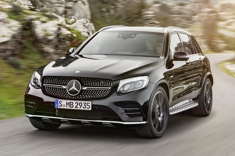 Mercedes Amg Glc 43 2016 Black Front Dynamic