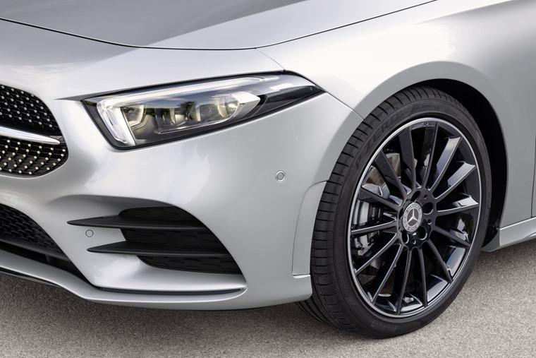 Mercedes-Benz A-Class Saloon 2019 front detail