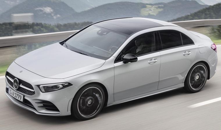 Mercedes-Benz A-Class Saloon 2019 front