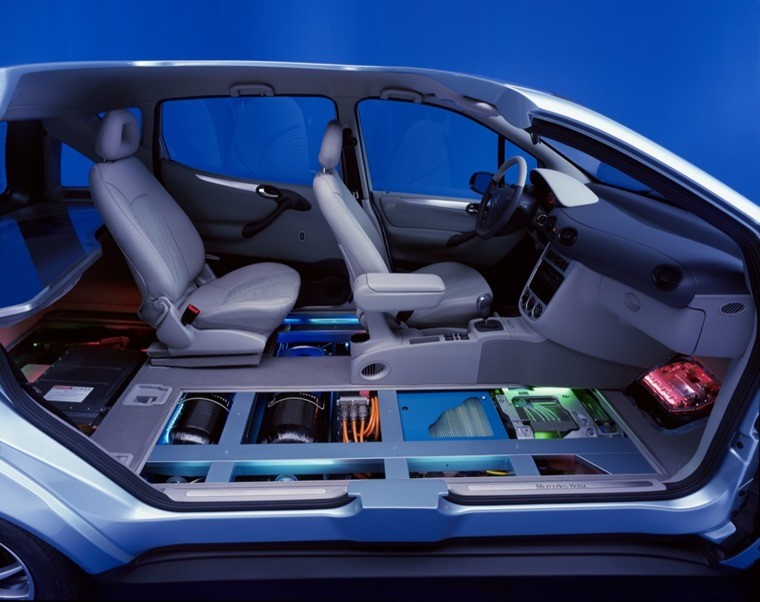 Mercedes-Benz A-Class sandwich floor