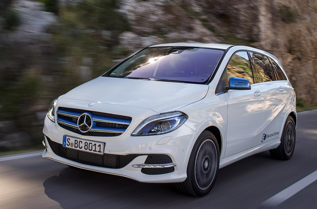 Mercedes Benz B Cl Electric Drive Front Dynamic