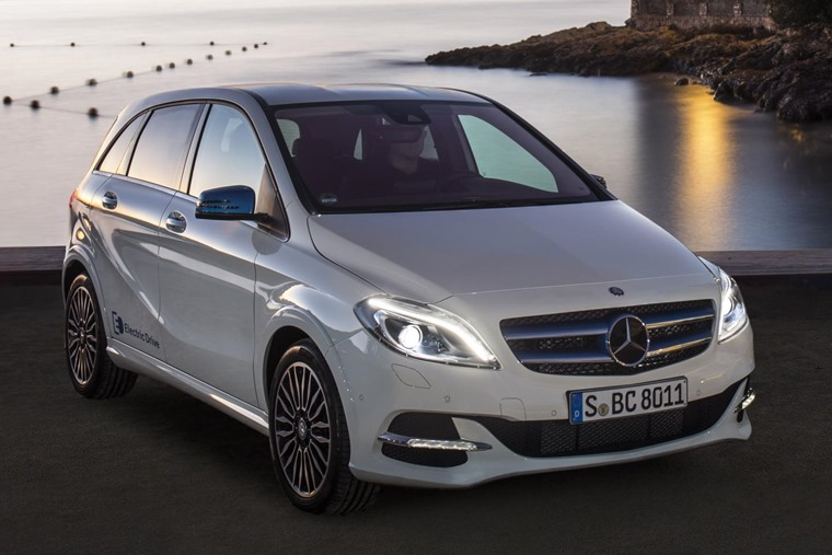 Mercedes Benz B Cl Electric Drive Front Static
