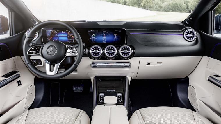 Mercedes-Benz B-Class interior 2019