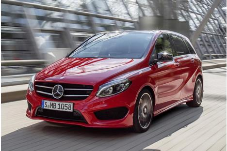 Facelifted Mercedes Benz B Cl Revealed Coming November