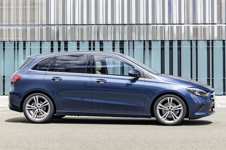 Mercedes-Benz B-Class side 2019