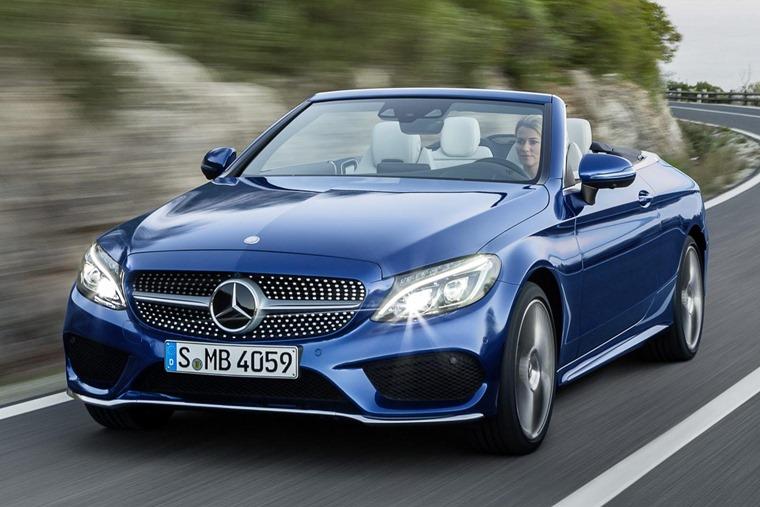 Mercedes Benz C Cl Cabriolet 2016 Blue Front Dynamic