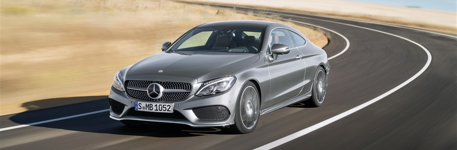 Mercedes-Benz C-Class Coupe 2015 Front Dynamic