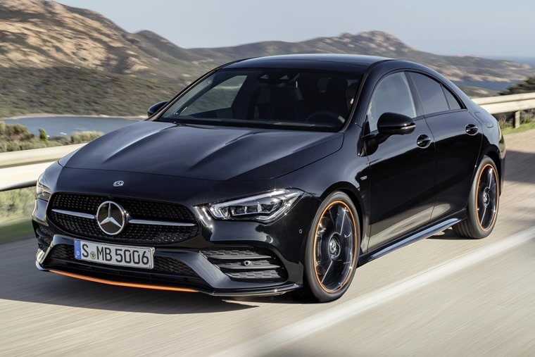 Mercedes-Benz CLA 2019 driving