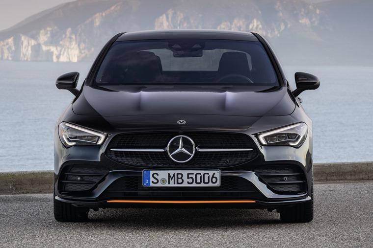 Mercedes-Benz CLA 2019 front