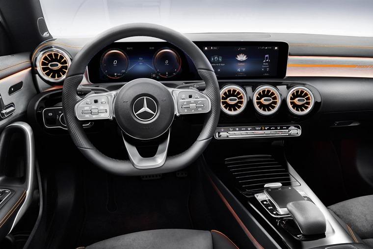 Mercedes-Benz CLA 2019 interior detail