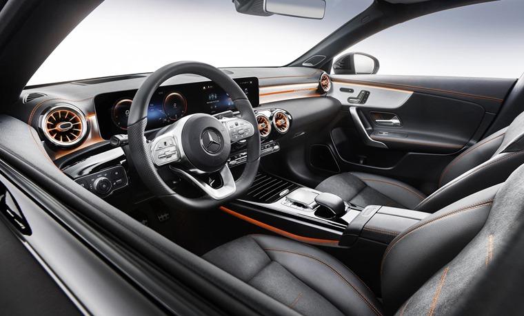 Mercedes-Benz CLA 2019 interior