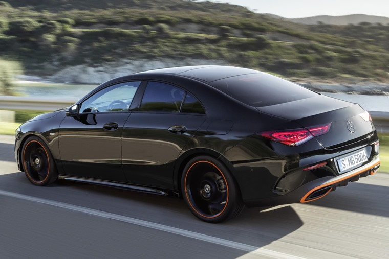 Mercedes-Benz CLA 2019 rear
