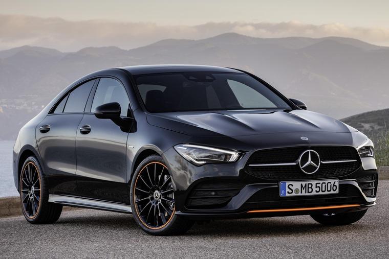 Mercedes-Benz CLA 2019 static