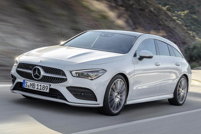 Mercedes-Benz CLA Shooting Brake 2019 front