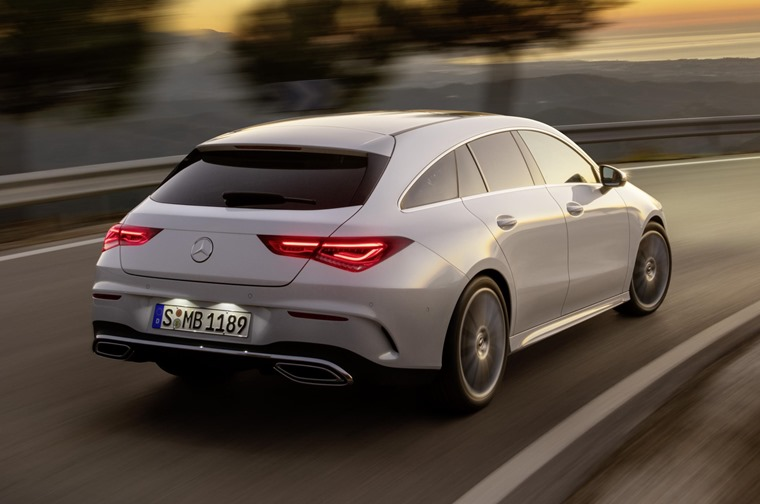 Mercedes-Benz CLA Shooting Brake 2019 rear