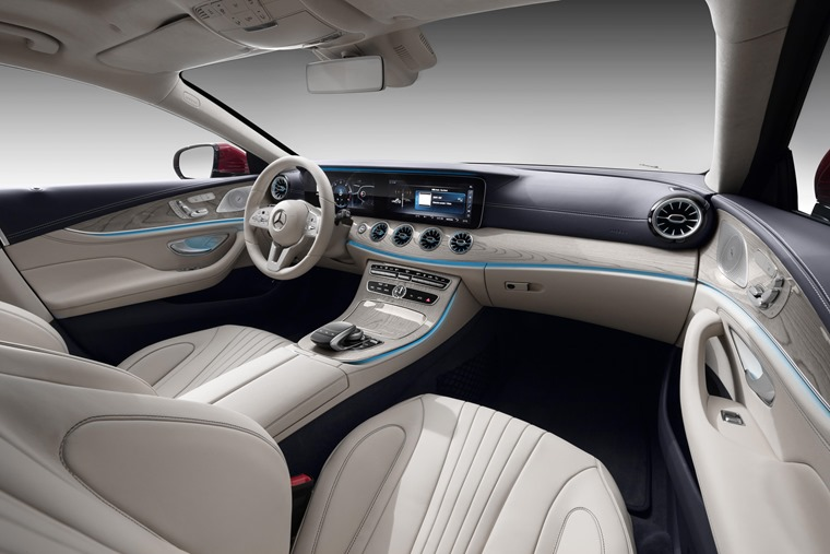 Mercedes-Benz CLS interior