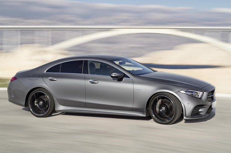 Mercedes-Benz CLS side