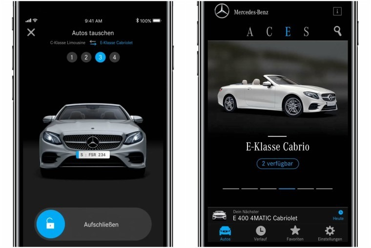 Mercedes-Benz announced they would be trialling a new car-as-service subscription model