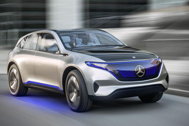 Mercedes Benz Generation EQ front
