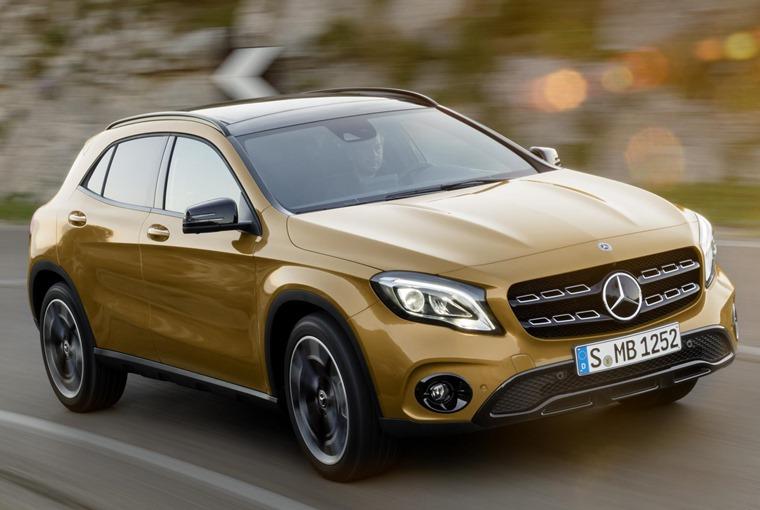 Mercedes-Benz GLA ext