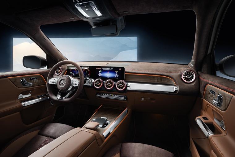 Mercedes-Benz GLB interior