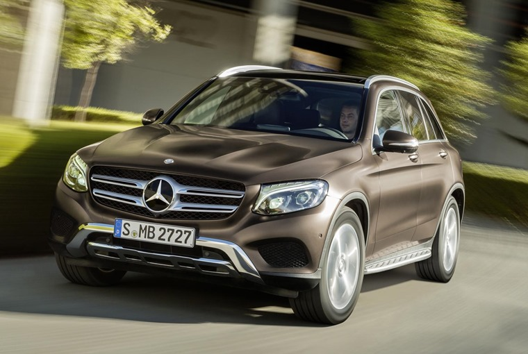 Mercedes Benz Glc Coupe 2016 Front