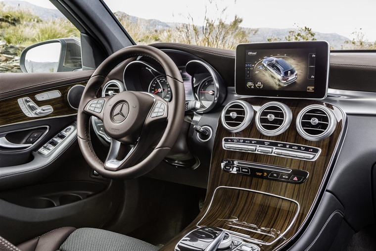 Mercedes Benz Glc Coupe 2016 Interior Cabin