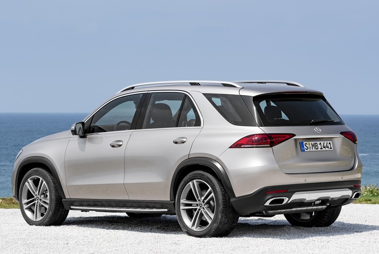 Mercedes-Benz GLE 2019 rear