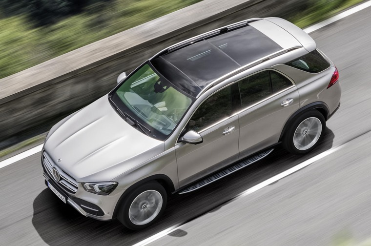 Mercedes-Benz GLE 2019 top