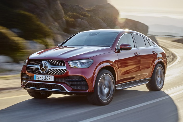 Mercedes-Benz GLE 2020 front