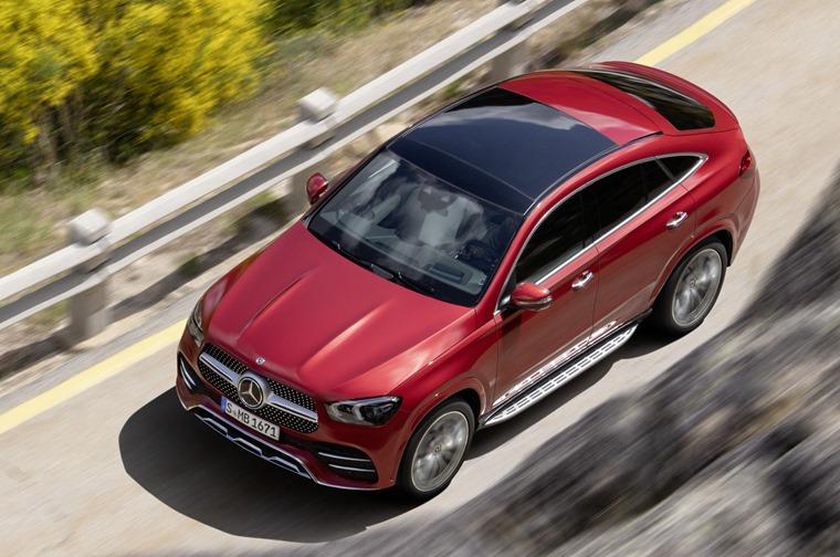 Mercedes-Benz GLE 2020 top