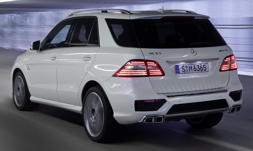 Mercedes Benz Confirms Ml 63 Amg 2012 Launch