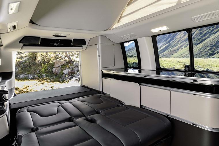 Mercedes-Benz V-Class Marco Polo 2019 bed