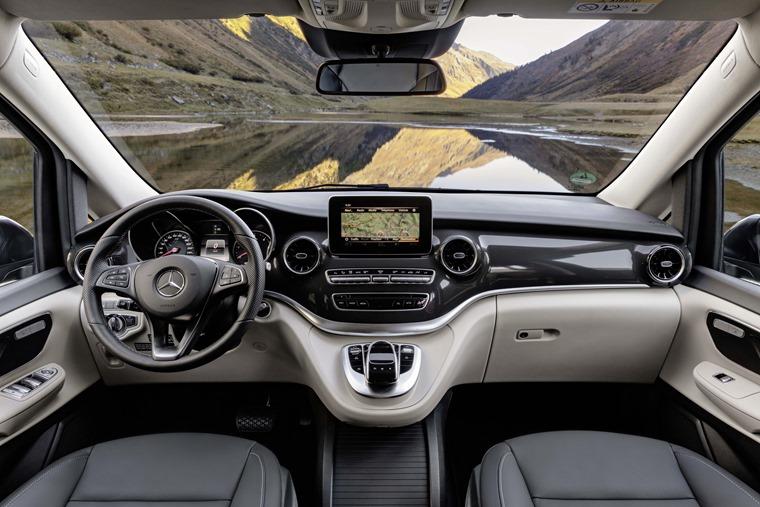 Mercedes-Benz V-Class Marco Polo 2019 cabin