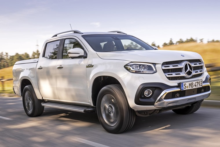 Mercedes X-Class: V6 350d will arrive in November