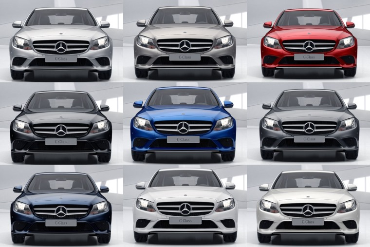 Colour Guide How Much Difference Does Colour Make To A Mercedes C