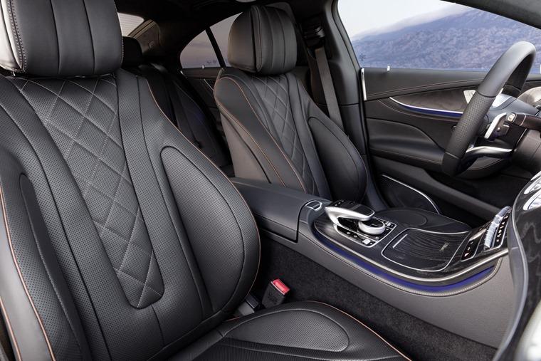 Mercedes CLS cabin