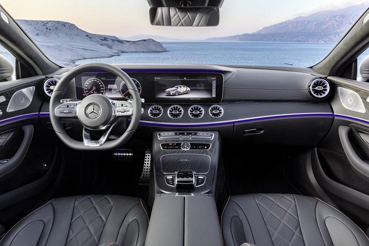 Mercedes CLS interior